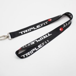 Customised lanyard singapore polyester with heat transfer printing