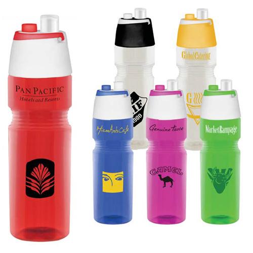 500ml Water Bottle with Mist Spray