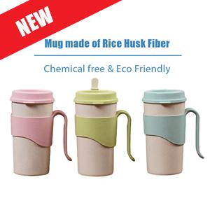 Rice Husk Mugs C1299