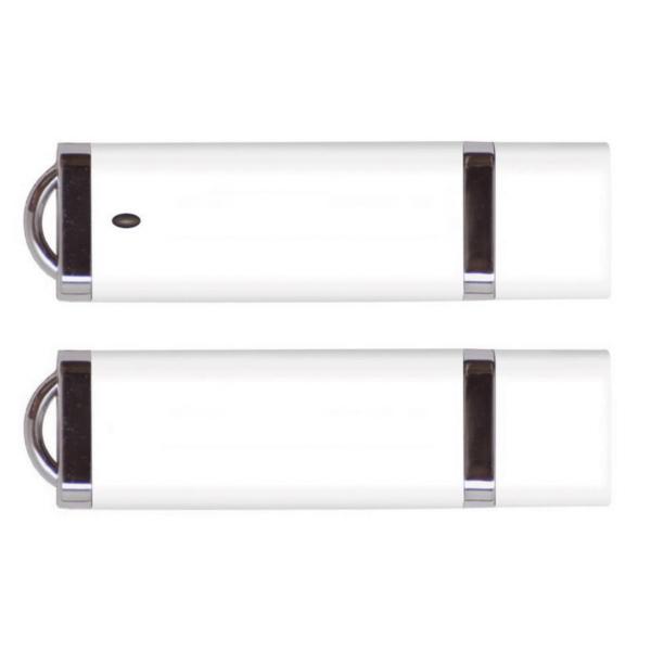 Smooth Edge with Metal Feet USB Drive