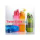 Collapsible Silicone Twist Lock Cap Waterbottle JT2017