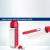 Water Bottle with Pill Container PC478